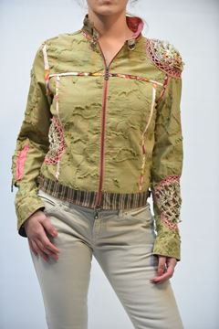 Picture of JACKET WOMAN TRICOT CHIC 10309 FANTASIA