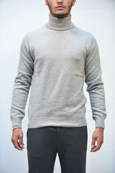 Picture of PULLOVER SEVENTY MAN MT1992 910390 GRIGIO