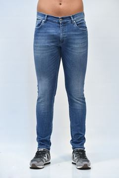 Picture of JEANS ALESSANDRINI MAN PH0103807 BLU