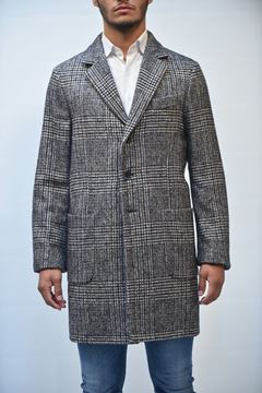 Picture of COAT MAN SEVENTY CP0190 230300 QUADRI