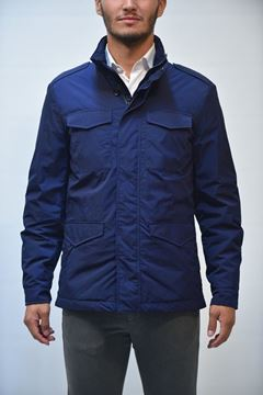 Picture of JACKET ALLEGRI MAN AUF04F-06694 BLU