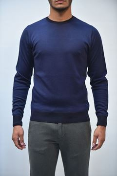 Picture of JERSEY BECOME MAN 517204 BLU