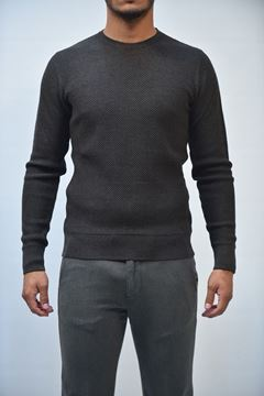 Picture of JERSEY BECOME MAN 518178 GRIGIO