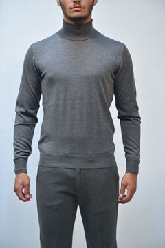 Picture of JERSEY BECOME MAN 582326 GRIGIO
