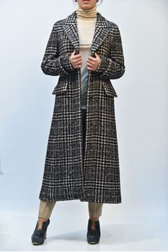 Picture of COAT SEVENTY WOMEN CP0250 570034 QUADRI