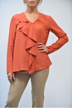Picture of JERSEY ONE T0041 0104A ARANCIO