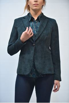 Picture of JACKET GRETHA MILANO WOMAN J049 2357 VERDE