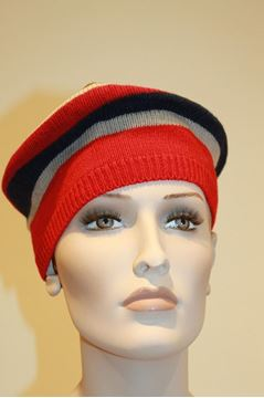 Picture of HAT GALLO AP104365 RIGHE ROSSO