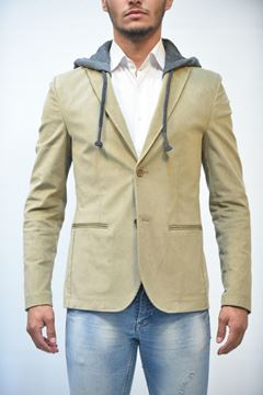 Picture of JACKET MAN DANIELE ALESSANDRINI G2922N8553807 CAMMELLO