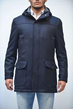 Picture of JACKET MAN ANGELO NARDELLI 3711 W0248 BLU