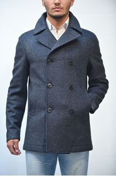 Picture of JACKET MAN ANGELO NARDELLI 3708 M1485 BLU SPINATO