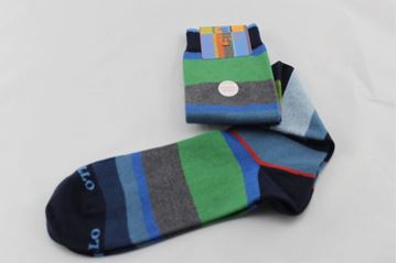 Picture of SOCKS GALLO MAN AP102855 VERDE BLU
