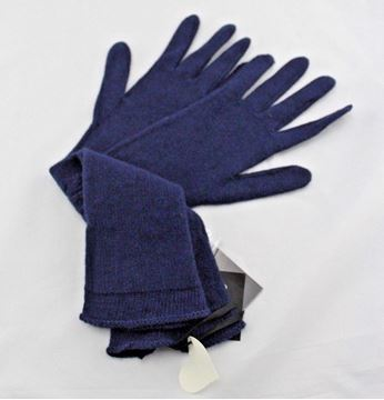 Picture of GLOVES TWIN-SET P32130 BLU