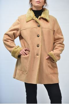 Picture of JACKET WOMAN PERSONA BINETTO BEIGE