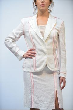 Picture of JACKET RICHMOND WOMAN 1023/1222 BIANCO