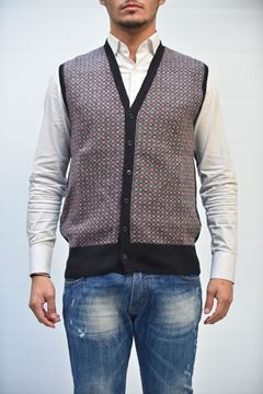 Picture of GILET BECOME MAN 542827A FANTASIA