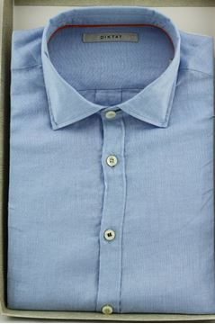 Picture of SHIRT DIKTAT MAN D59402 AZZURRO