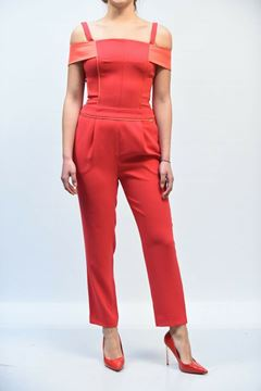 Picture of JUMPSUIT NENETTE HOLLY 19 ROSSO