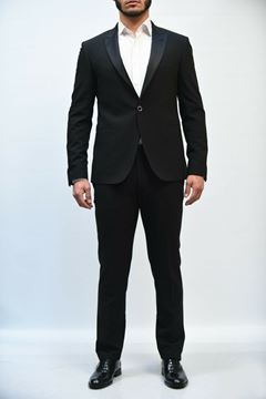 Picture of SUIT NIGHT SMOKING SM411Y49 19 NERO
