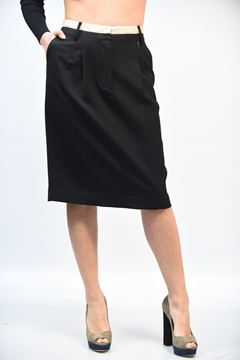 Picture of SKIRT ANGELO MARANI WOMAN 21 4786 NERO