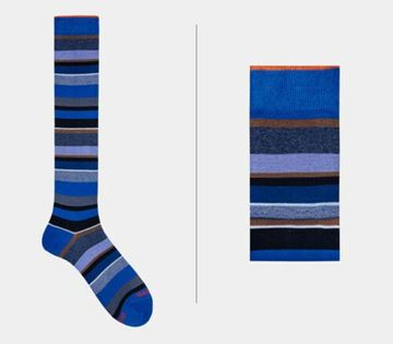 Picture of SOCKS GALLO MAN 103476 12857 RIGA MULTICOLOR