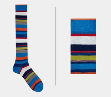 Picture of SOCKS GALLO MAN 103476 30888 RIGA MULTICOLOR