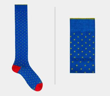 Picture of SOCKS GALLO MAN 103613 30901 FANTASIA MICRO POIS