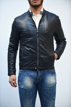 Picture of JACKET MAN THE JACK LEATHERS METROPOLIS BLU