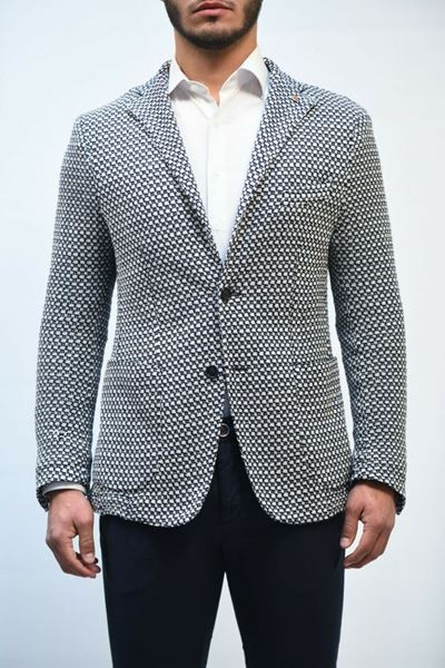 Picture of JACKET JERRY KEY MAN 91201 2190 BIANCO BLU