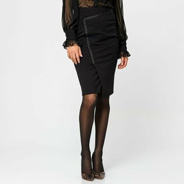 Picture of SKIRT ACCESS FASHION 6017-164 NERO