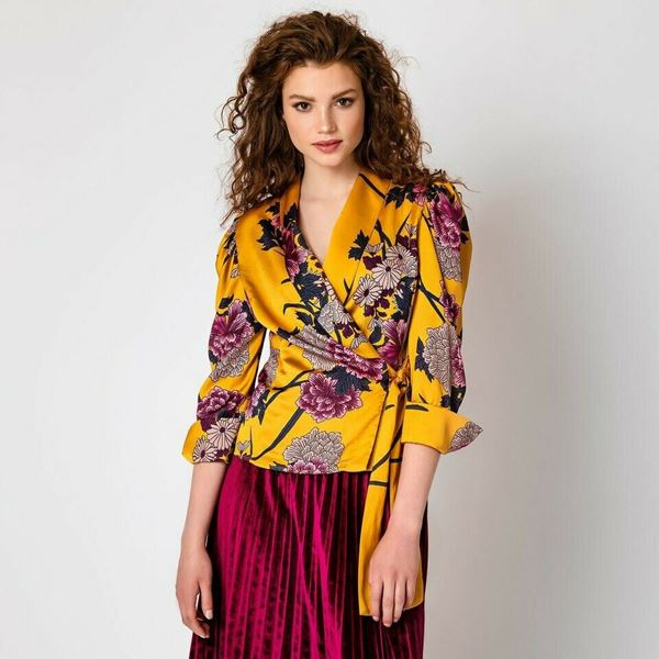Picture of SHIRT WOMAN ACCESS FASHION 2122-277 FANTASIA