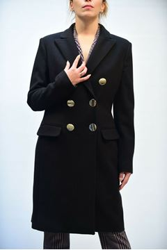 Picture of COAT WOMEN CRISTINAEFFE ANYA NERO