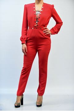 Picture of JUMPSUIT CRISTINAEFFE WOMAN SCARLET ROSSO