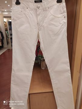 Picture of PANTS GAZZARINI MAN 110326 1004 WHITE