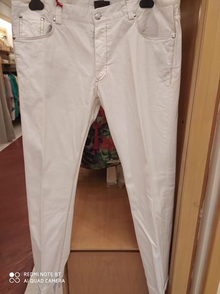 Picture of PANTS RED CODE MAN WHITE
