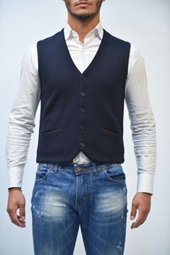 Picture of GILET BECOME MAN 548077 GRIGIO