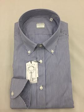 Picture of XACUS  CAMICIA UOMO ART. 11232.003.507 TAILOR FIT RIGHE BLU