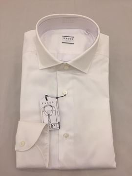 Picture of XACUS  CAMICIA UOMO ART. 11231.101.558 TAILOR FIT BIANCO